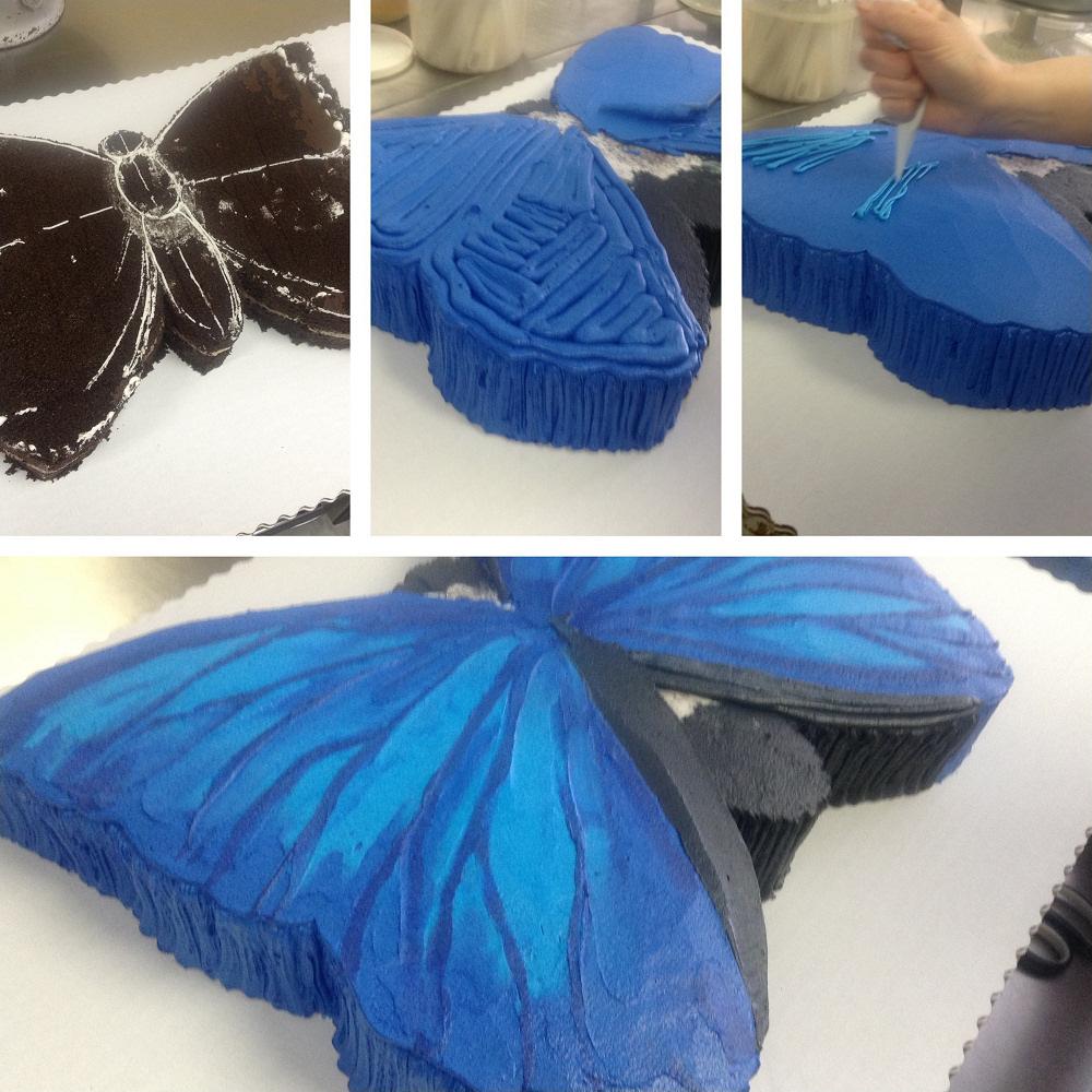 Butterfly Kisses Shape Cake Cakeworks Blog