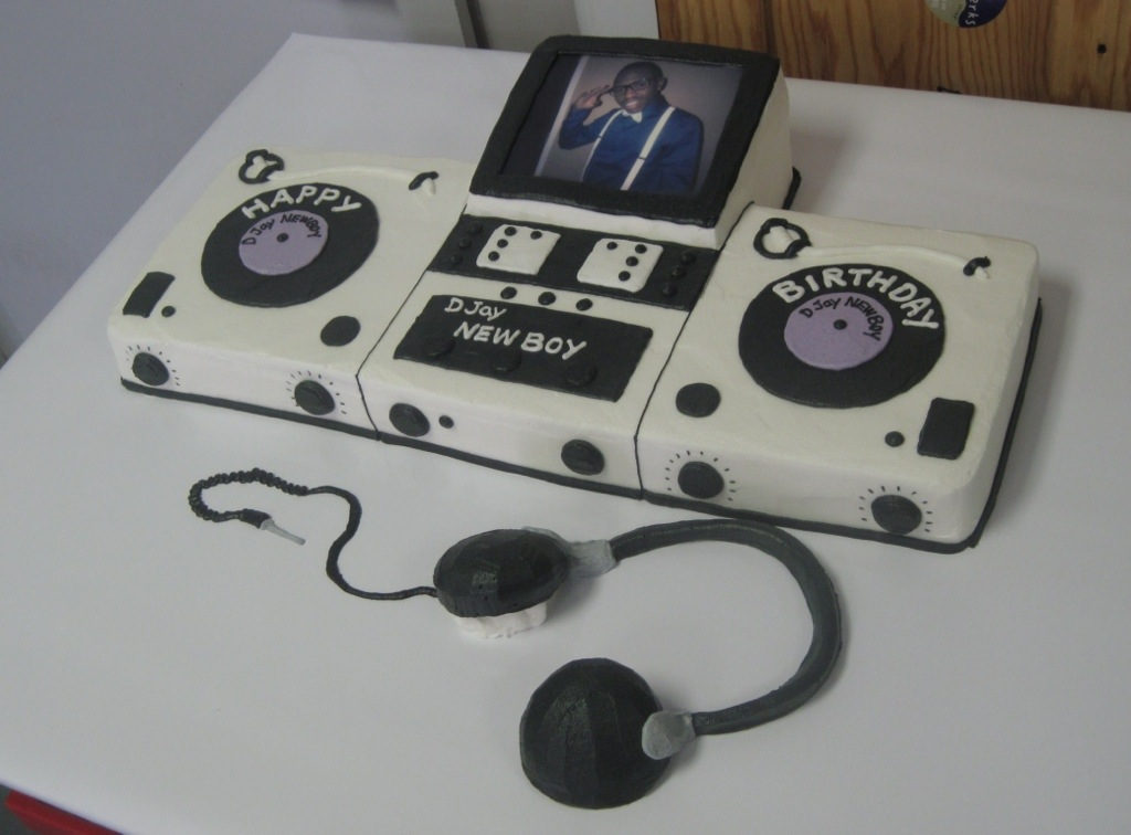 Dj Shape Cake Cakeworks Blog