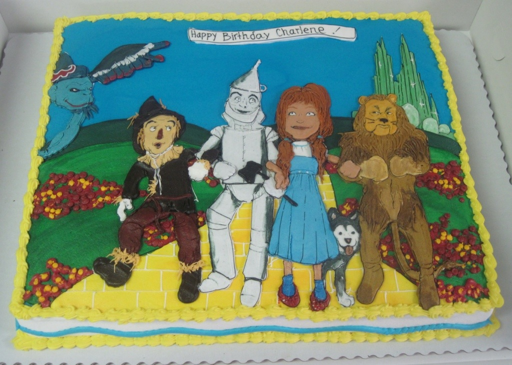 Wizard Of Oz Starring You As Dorothy Cakeworks Blog