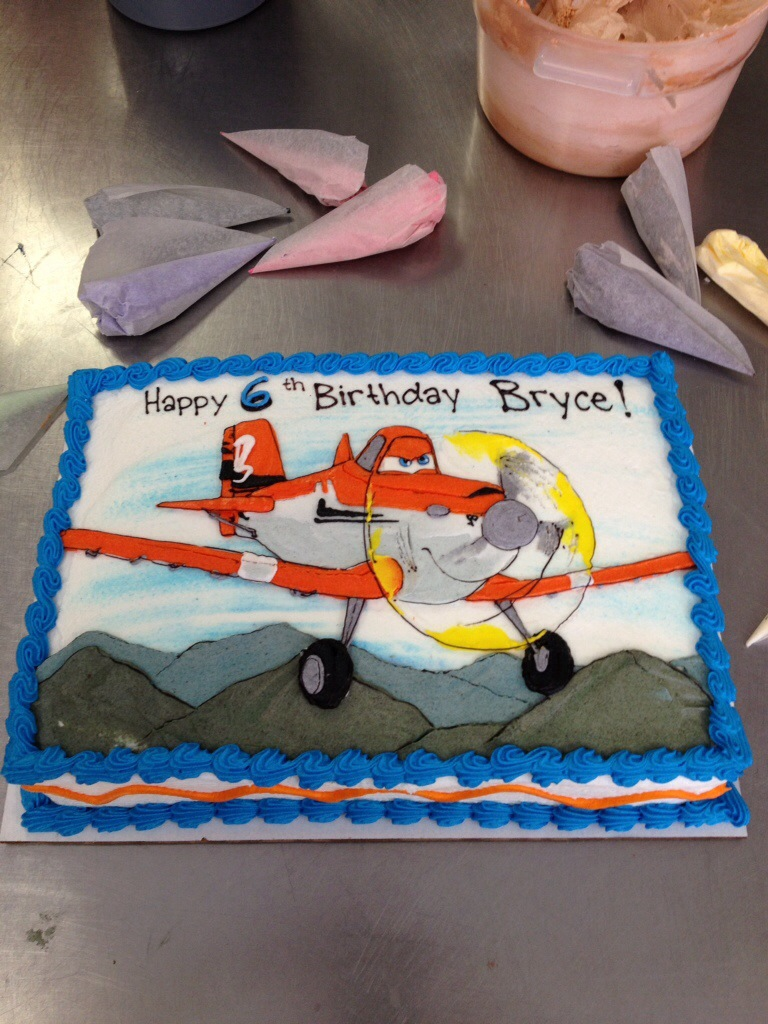 Dusty From The Movie Planes Cakeworks Blog
